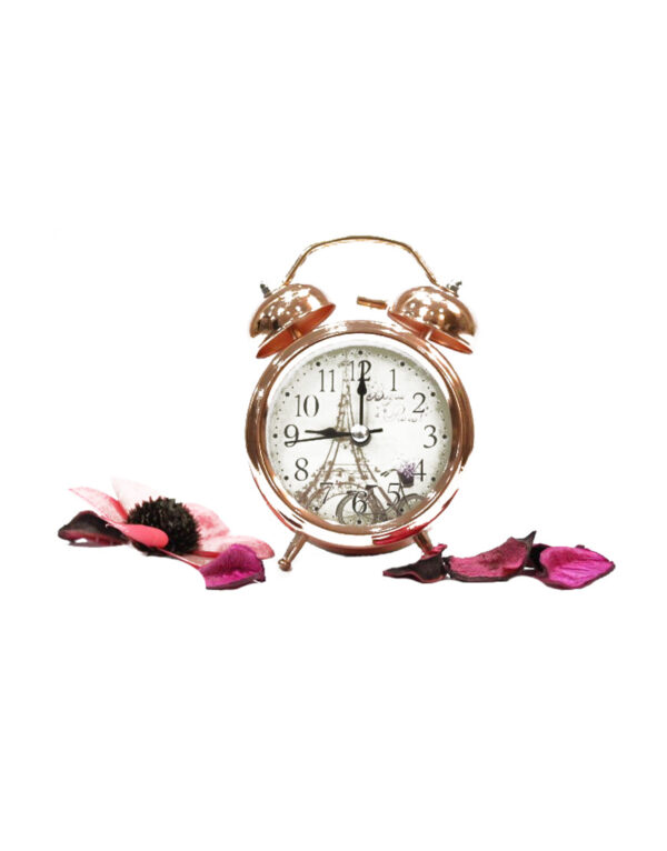 Copper-Vintage-Twin-Bell-Analog-Table-Alarm-Clock.