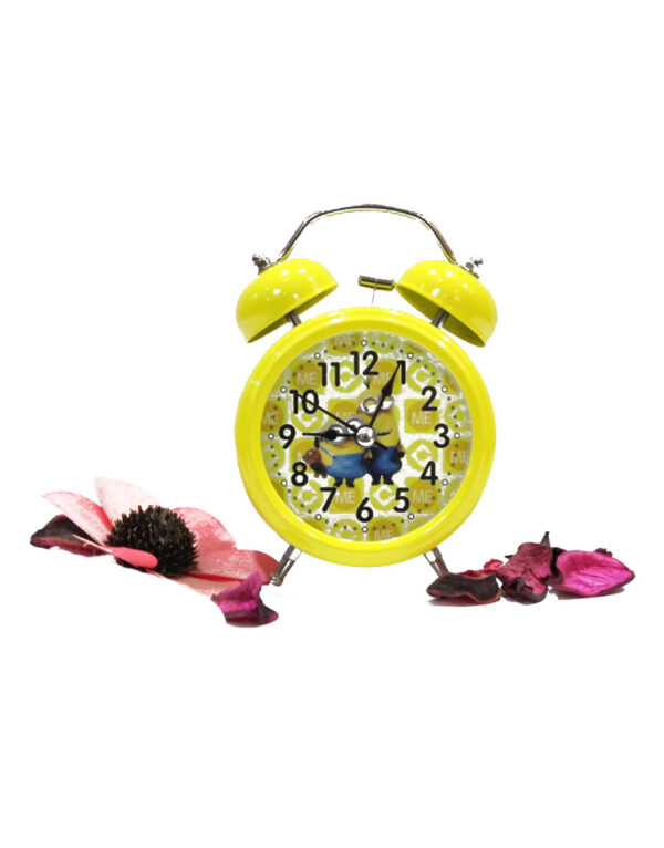 Minions-Vintage-Twin-Bell-Analog-Table-Alarm-Clock.Y2