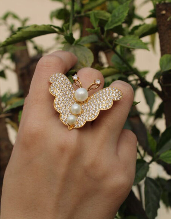 Butterfly Ring For Butterfly Girl.