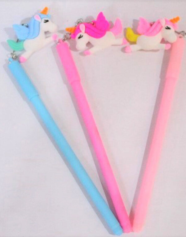 Unicorn-Gel-Pen-With-Keychain-Best-Gift-For-Kids.2