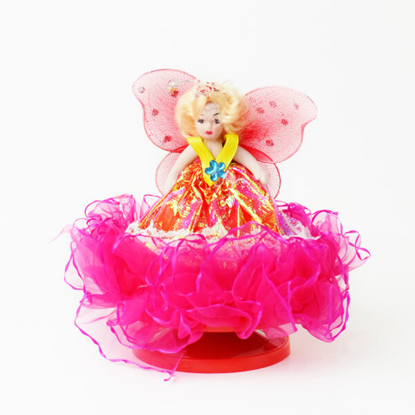 Rotating Musical Doll with Umbrella