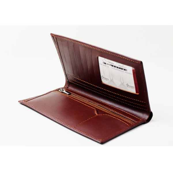 Gent's Long Wallet - Genuine Leather