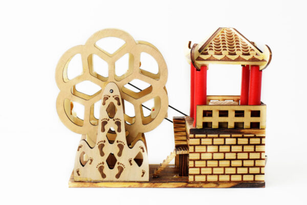 Wooden Mill with Music
