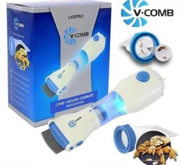 V Comb Anti Lice Machine Removes lice From Ur Hair Without Any Pain.