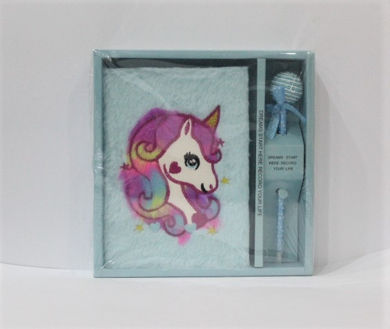 Unicorn Diary And Pen Gift Set For Girl.