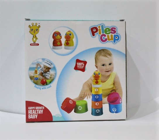 Piles Cup For Kids 8+1 Pcs For Kids