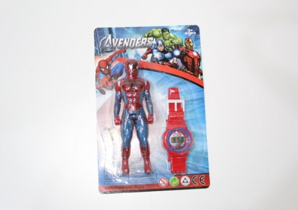 Spiderman And Watch For Kids.