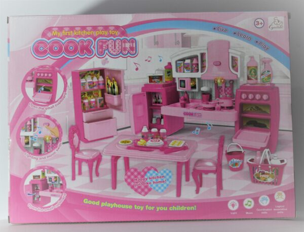 Cook Fun My First Kitchen Play Toy.