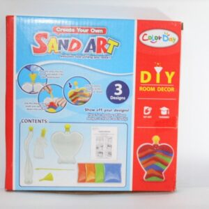 Colorful Sand Art for kids - Multicolor