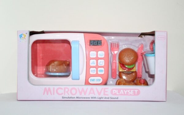 Microwave Playset With Light And Sound