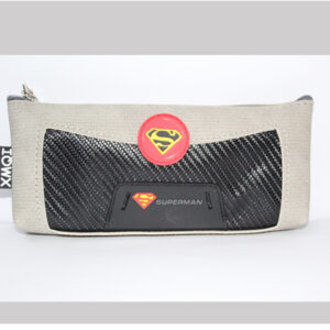 Superman Pencil Case Stationery Pouch Cosmetic Bag.