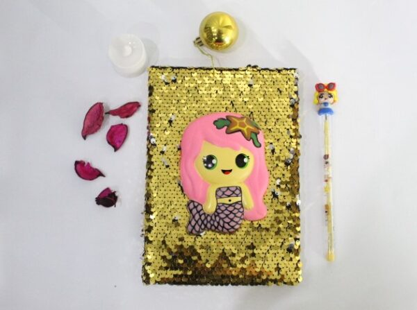 LOL Surprise Squishy Journal With Led Pencil For Kids.