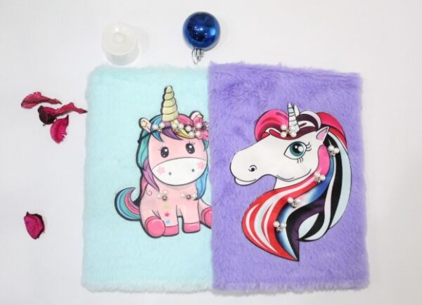 Unicorn Notebook Journal With Led Light Led Pencil For Kids.