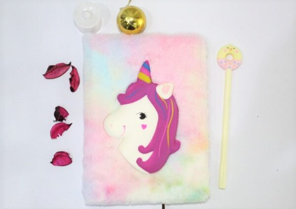 Unicorn Notebook Journal With Gel Pen For Kids.