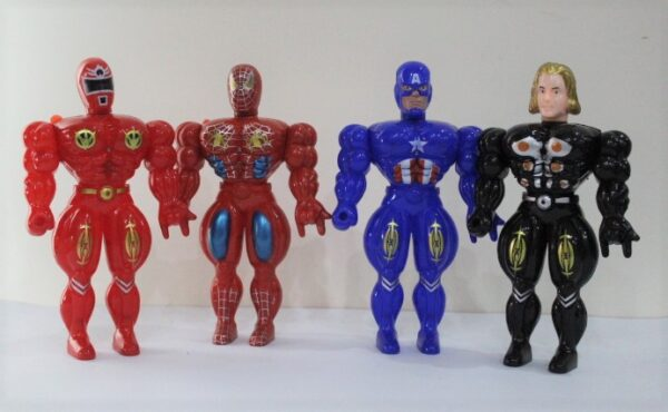 Super Hero Most Powerful Power 7 PCS With Light.