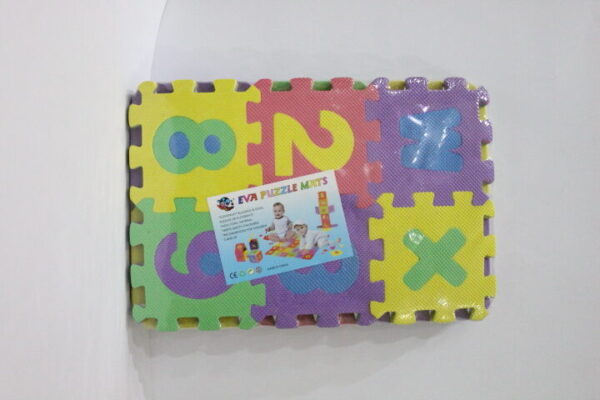 EVA Puzzle Mats Series ABC And 123 For Kids.