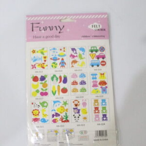 Wall Decoration Fomic Stickers For Kids Room.