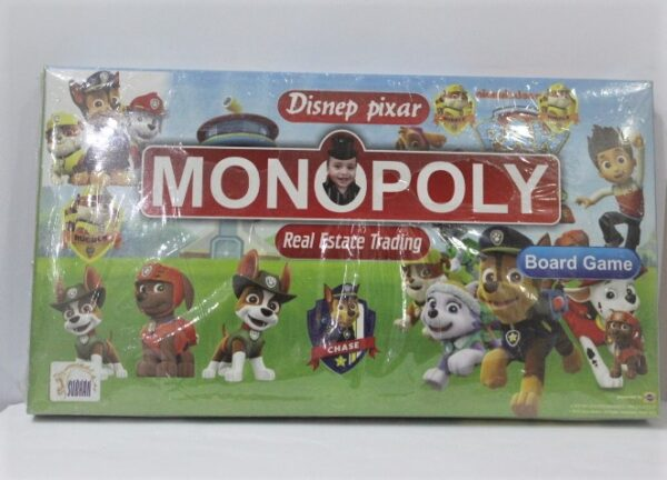 Monopoly Real Estate Trading Game.