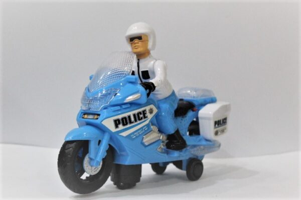 Police X Security Motor For Age 3+