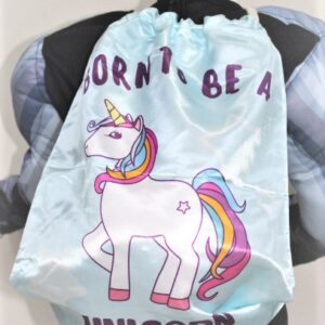 Back To School Born To Be A Unicorn Bag Made In China 100 % polyester