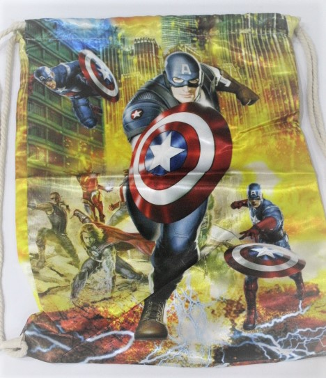 Back To School Super Hero Made In China 100 % polyester