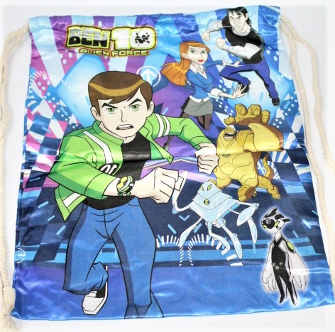 Back To School Ben 10 Bag Made In China 100 % polyester