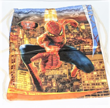 Back To School Spiderman Bag Made In China 100 % Polyester