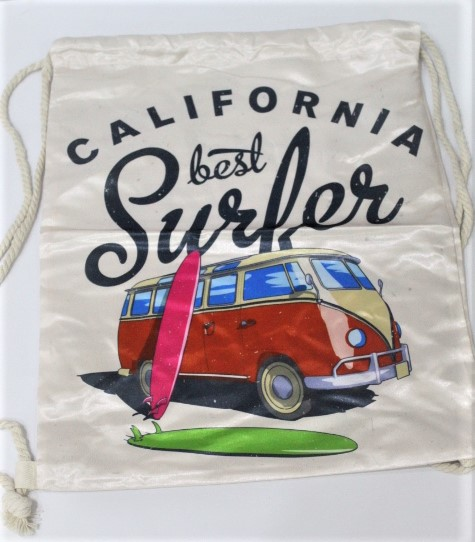 Back To School California Lest Surfer Bag Made In China 100 % polyester