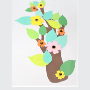 Wall Decoration Tree Fomic Stickers For Kids Room.