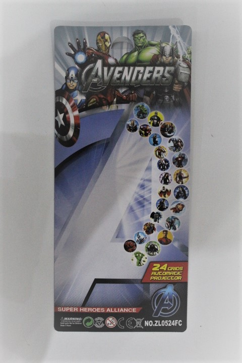 Avengers Super Heroes Project Watch 24 grids