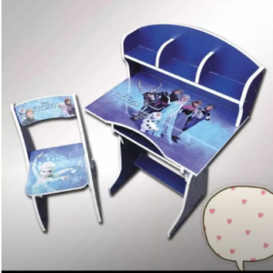 Cartoon printed table and chair set