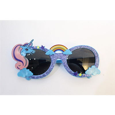 Ocean Line Unicorn Sunglasses – Party Favors, Novelty Shades, Party Toys, Funny Costume Glasses Accessories for Kids & Adults