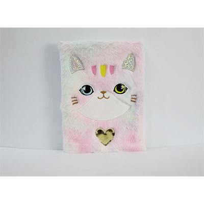 Cat Soft Diary For Kids.