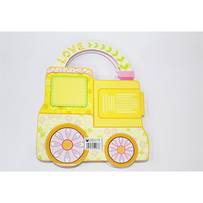 Beautiful Car Style Gift Box With Lock Diary For Kids.